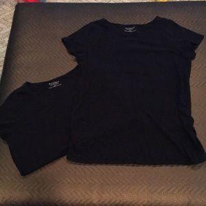 Motherhood Maternity Black tops (2)